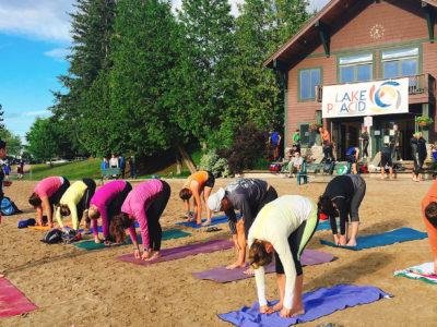Free Yoga in Lake Placid July 22 & 23