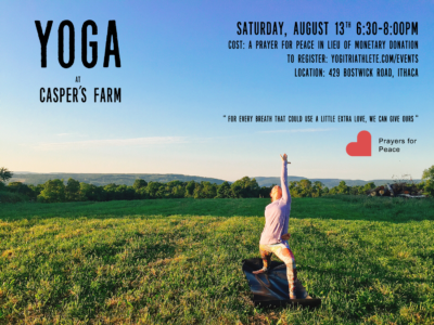 Community Event: Prayers for Peace Yoga