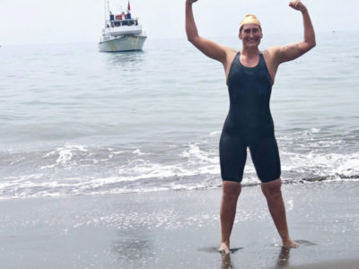 Podcast 170: IRONMAN Race Director Sabrina Houston on her Catalina Channel Crossing LIVE from PlayTri