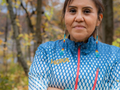 Podcast 255: Verna Volker – Founder of Native Women Running Giving Voice to the Voiceless